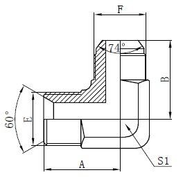 BSP Hidraulike Adaptues Vizatim