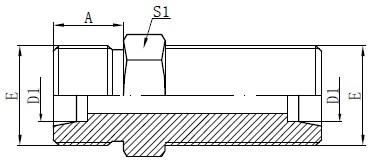 Vizatim metrikë me bulkhead Vizatim