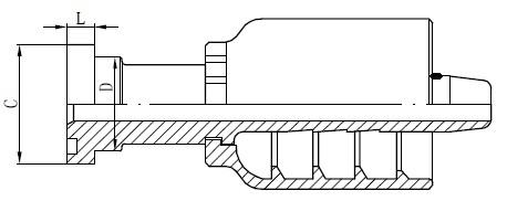 Tërheqja e lidhësit të tubave SS